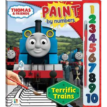 Thomas & Friends Paint by Numbers - Terrific Trains