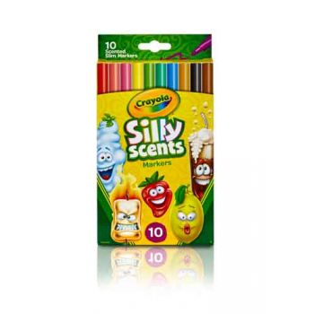 Crayola Silly Scents 10pk Slim Markers