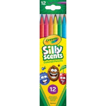 Crayola Silly Scents 12pk Twistables Coloured Pencils