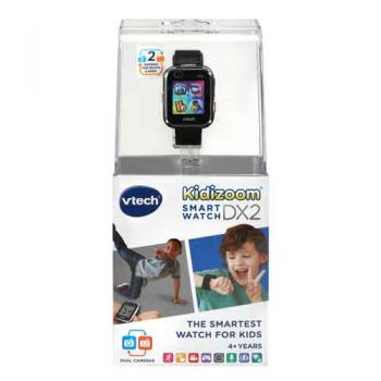 VTech Kidizoom Smartwatch DX2.0 Black