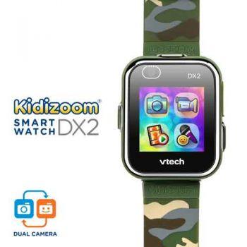 VTech Kidizoom Smartwatch DX2.0 Camouflage