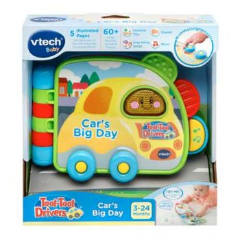 VTech Toot Toot Drives Car's Big Day Book