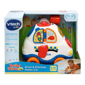 VTech Toot Toot Drives Drive & Discover Police Car