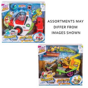 The Grossery Gang Series 3 Playset assorted