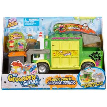 The Grossery Gang Muck Chuck Garbage Truck Playset