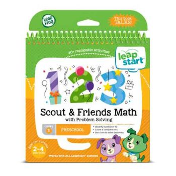 LeapFrog LeapStart Scout & Friends Maths Activity Book - Level 1