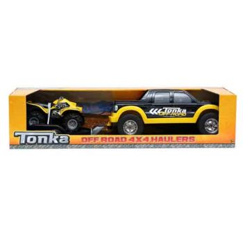 Tonka 4 X 4 Off-Road Hauler With ATV