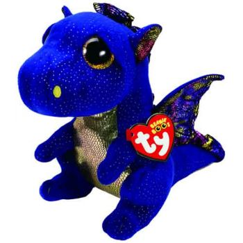 Ty Beanie Boos Medium - Saffire Blue Dragon