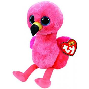 Ty Beanie Boos Medium - Glida Pink Flamingo