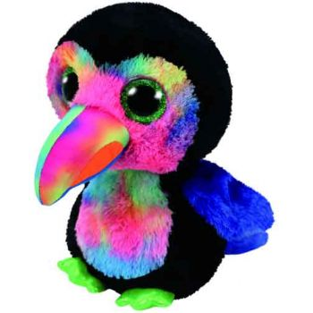 Ty Beanie Boos Medium - Beaks Black Toucan