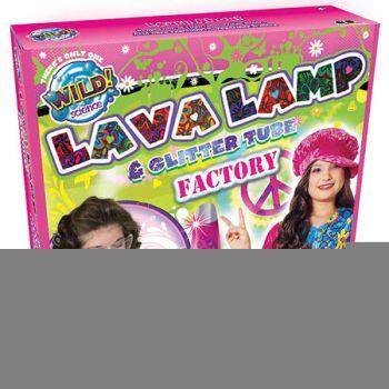 Wild Science Lava Lamp & Glitter Tube Factory