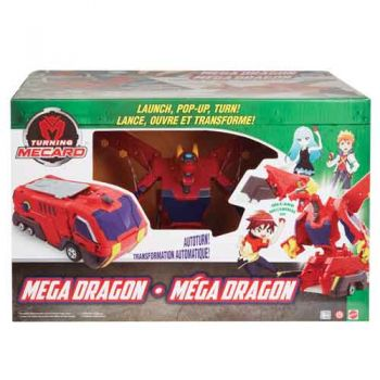 Turning Mecard Mega Dragon
