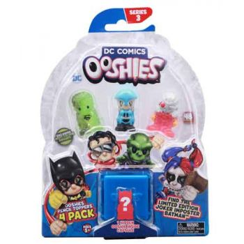 Ooshies DC Series 3 4pk assorted