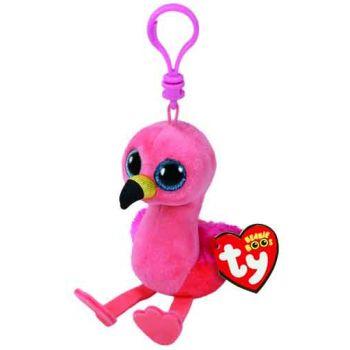 Ty Beanie Boos Clips - Glida Pink Flamingo