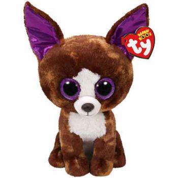 Ty Beanie Boos Medium - Dexter Brown Chihuahua ( was RRP $19.99 )