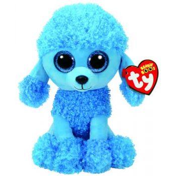 Ty Beanie Boos Medium - Mandy Blue Poodle