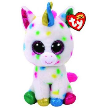 Ty Beanie Boos Medium - Harmonie Speckled Unicorn