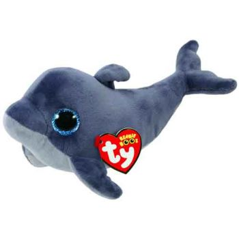 Ty Beanie Boos Regular - Echo Grey Dolphin