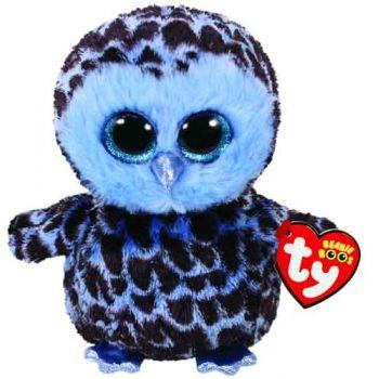 Ty Beanie Boos Regular - Yago Blue Owl ( was RRP $9.99 )