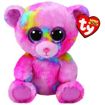 Ty Beanie Boos Regular - Frankie Multi Bear