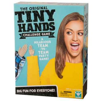 Tiny Hands Challenge Game