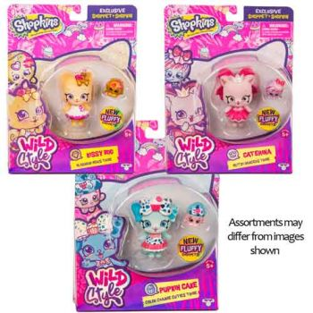Shopkins Wild Style W1 Shoppets Single Pack Assorted