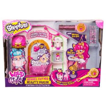 Shopkins Wild Style Playset - Kennel Cuties Beauty Parlour