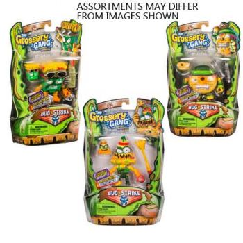 The Grossery Gang Series 4 W1 Action Figures Assorted