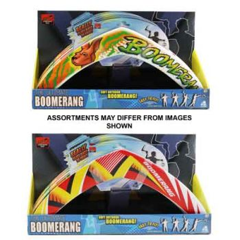 Ultimate Boomerang assorted ( ONLY SOLD in Display of 12 )