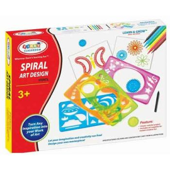 Spiral Art Kit ( was RRP $14.99 )