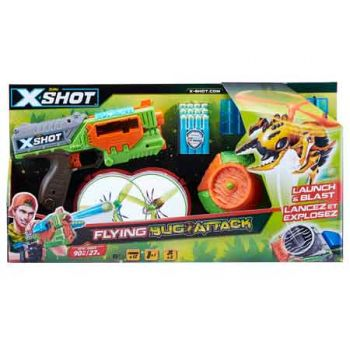 XSHOT Bug Attack Flying Bugs Launcher & Bugs ( was RRP $39.99 )