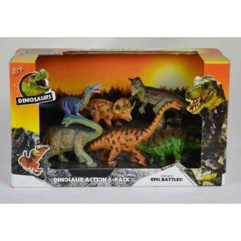 """Dinosaurs 4.5"""" 6pk assorted"""
