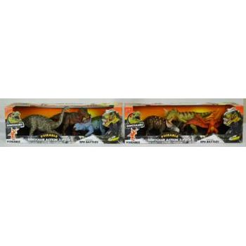 """""""Dinosaurs 9"""""""" Poseable 3pk assorted"""""""