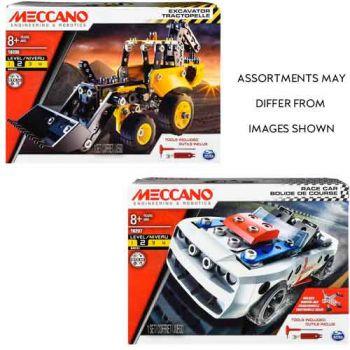 Meccano Race Car/Excavater assorted