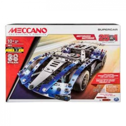 Meccano Multi Model 25 Supercar All Brands Toys Pty Ltd