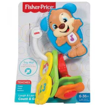 Fisher Price Laugh & Learn Count and Go Keys