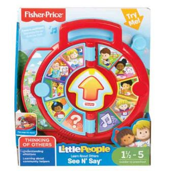 Fisher Price Little People See n Say