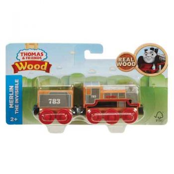 Thomas & Friends Wooden Railway Large Engine - Merlin