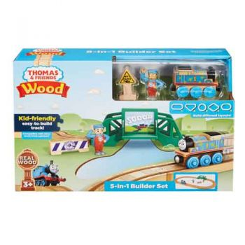 Thomas & Friends Wooden Railway - 5 in 1 Builder Set