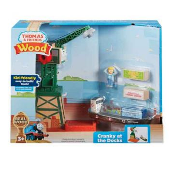 Thomas & Friends Wooden Railway - Cranky at the Docks
