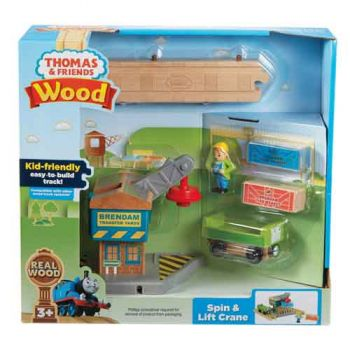 Thomas & Friends Wooden Railway - Spin & Lift Crane
