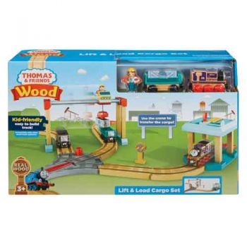 Thomas & Friends Wooden Railway - Lift & Load Cargo Set