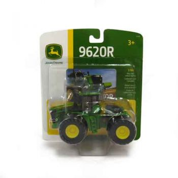 John Deere 1:64 9620R Tractor with Front and Rear Wheels