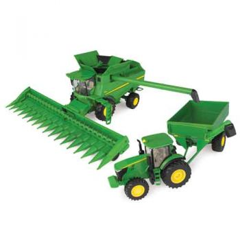 John Deere 1:32 Corn Harvesting Set