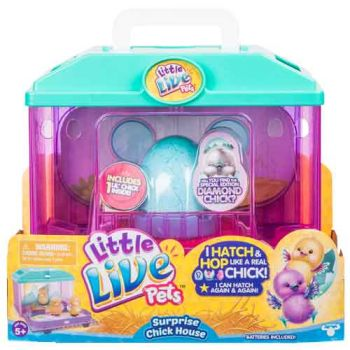 Little Live Pets Series 2 Surprise Chick Hatching House