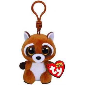 Ty Beanie Boos Clips - Rusty the Raccoon