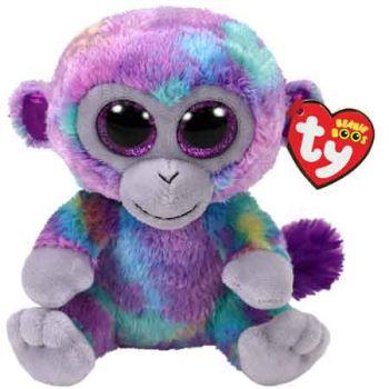 Ty Beanie Boos Medium - Zuri the Multi Monkey