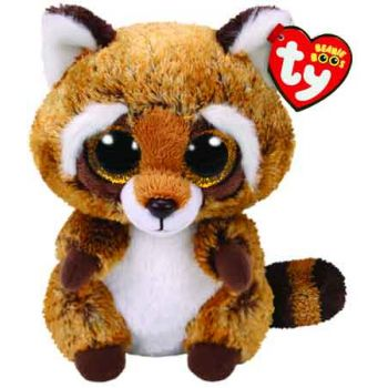 Ty Beanie Boos Medium - Rusty the Raccoon
