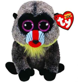 Ty Beanie Boos Medium - Wasabi the Baboon