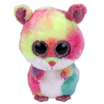 Ty Beanie Boos Medium - Rodney the Multi Hamster